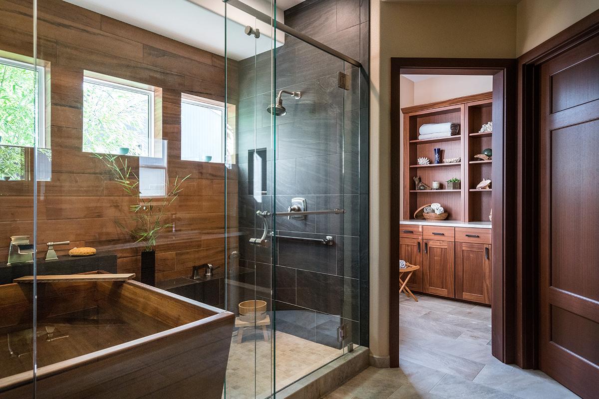 Japanese Inspired Spa Bath