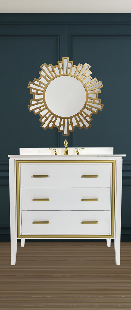 High-Gloss Vanity Collection