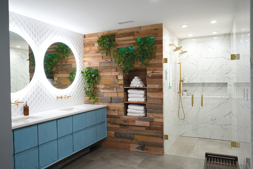 Cool Colors Fab Finishes Kitchen Bath Design News