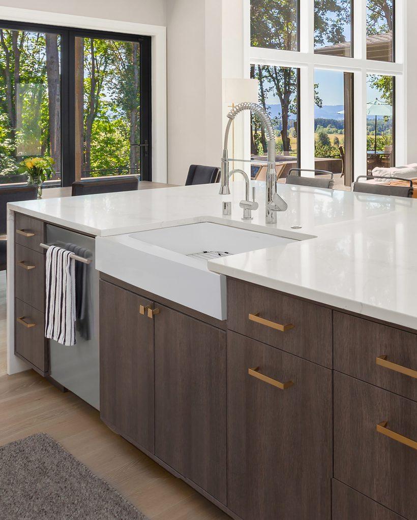 Apron Front Composite Sink