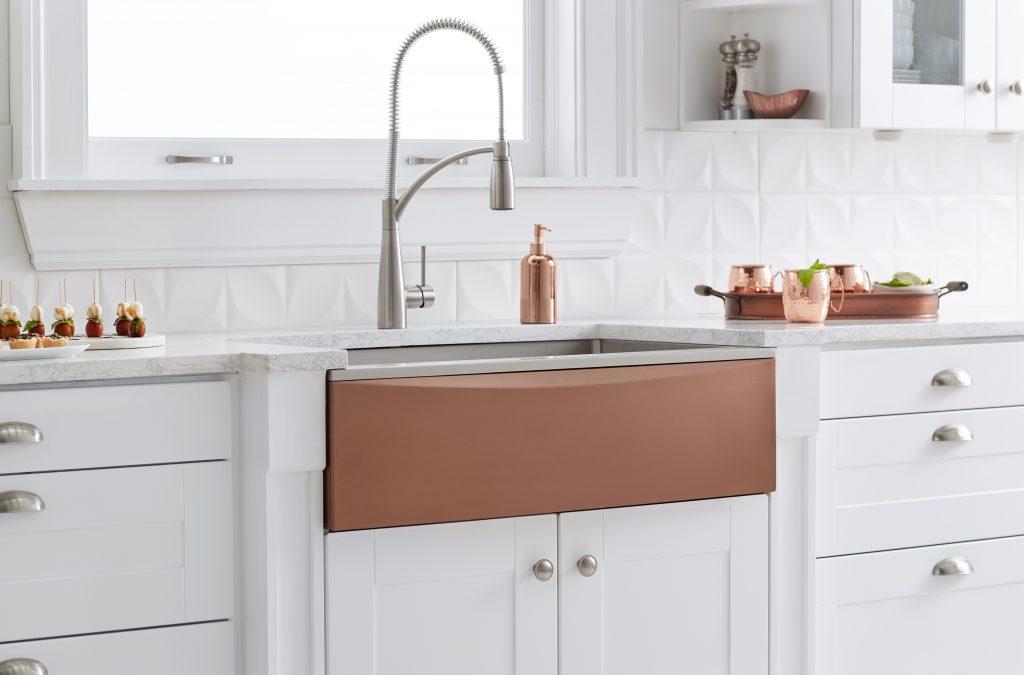 Interchangeable Apron Front Sink