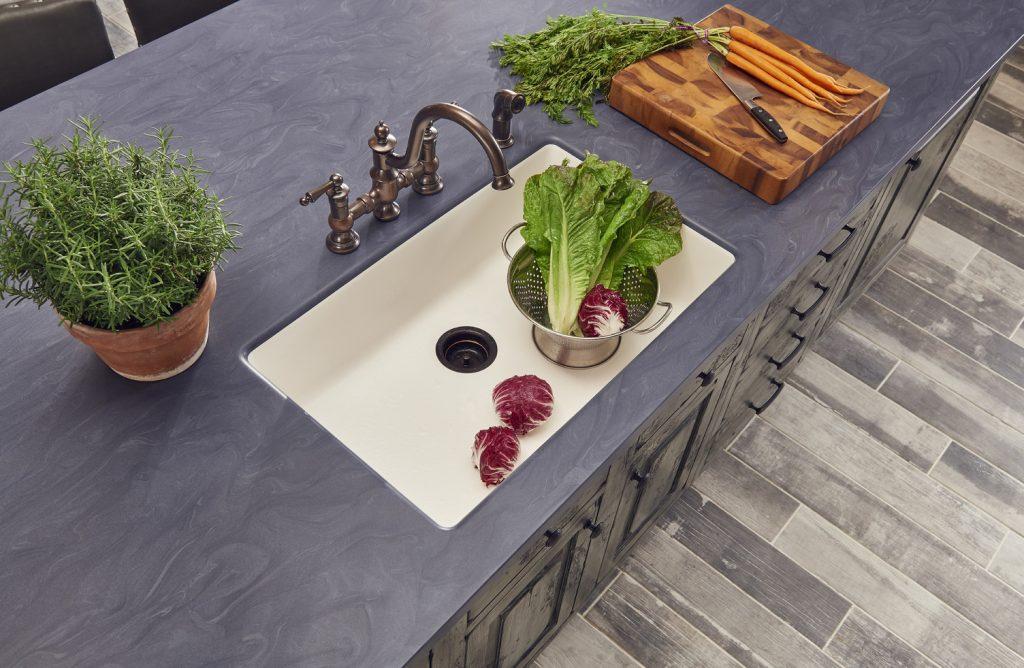 Solid Surface Kitchen Sinks