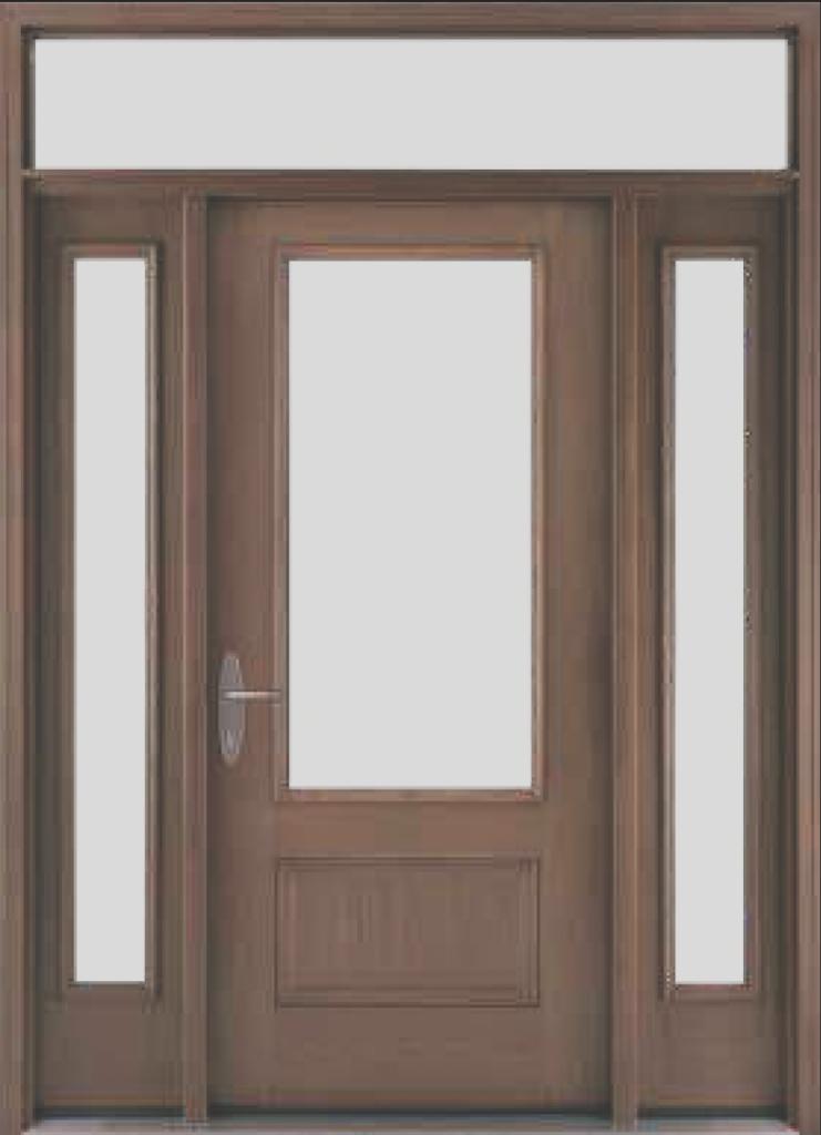 Composite door frame eliminates maintenance, risk of rot