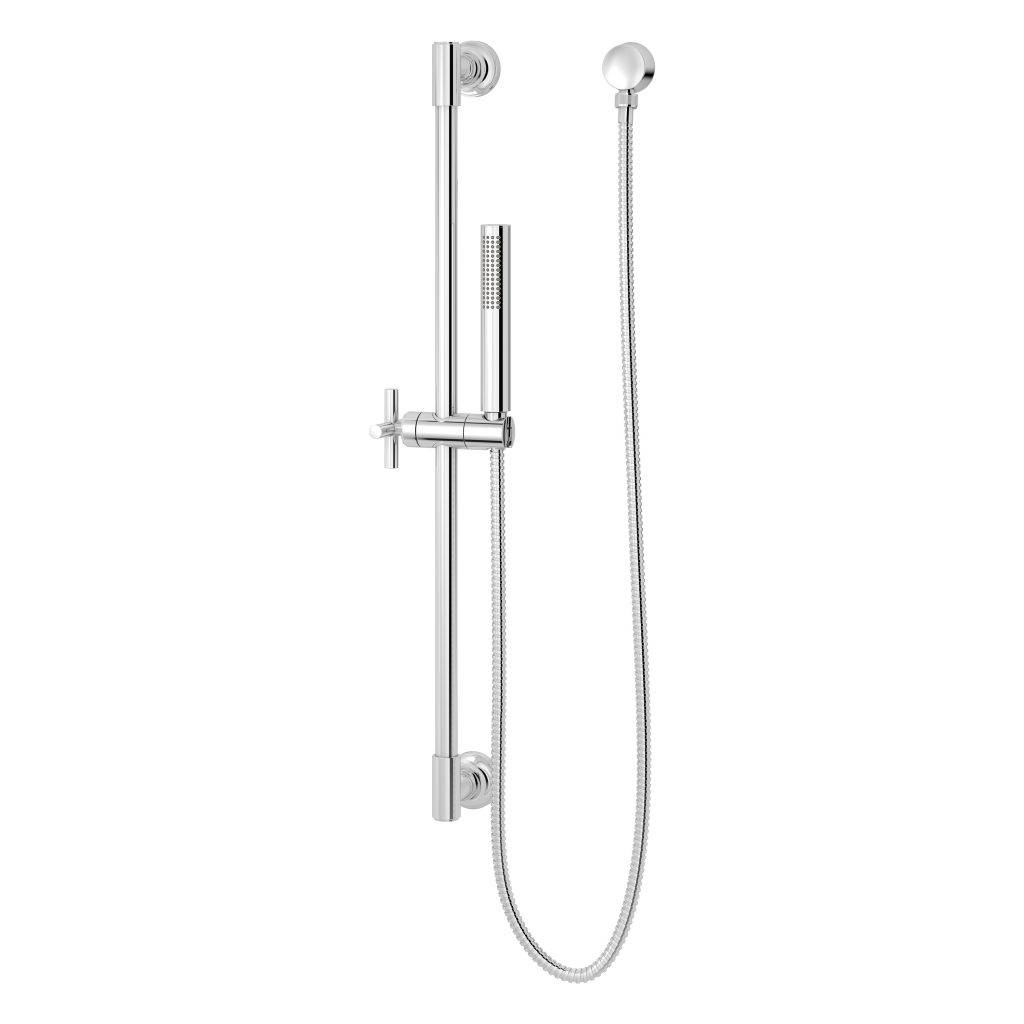 Shower column enables users to divert with one hand