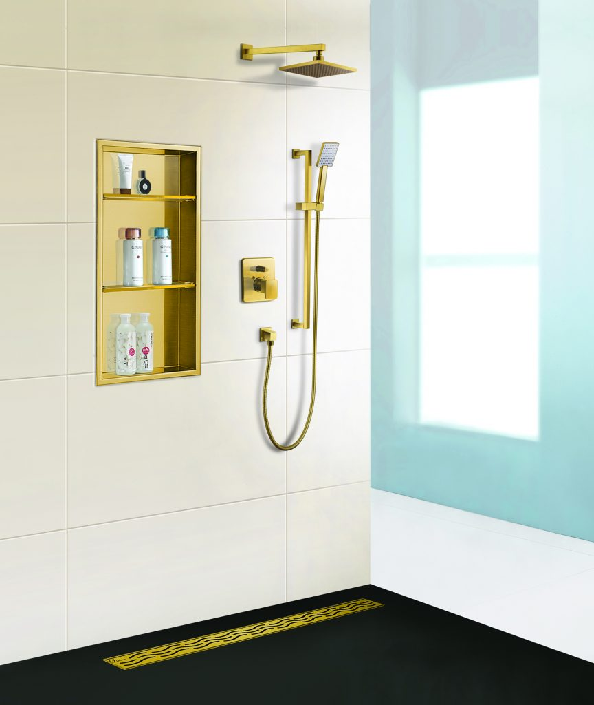 Shower Niches and Drains