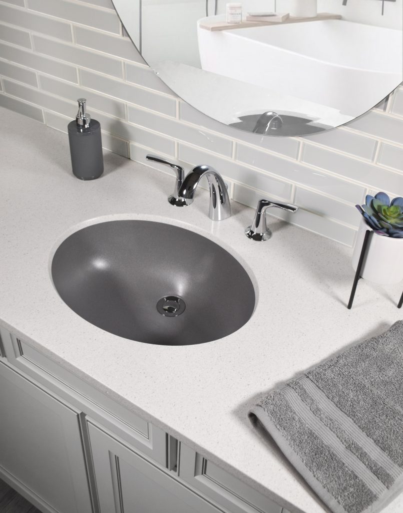 Quartz Bathroom Sink