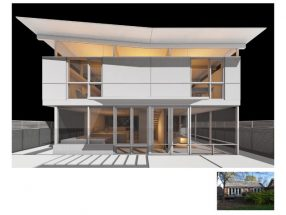 Parti Shot: Urbane Revival by Robert M. Cain Architect