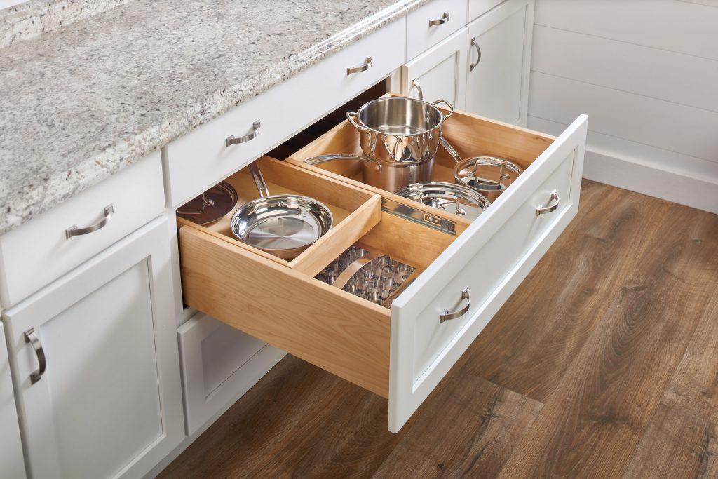Cabinet Drawer Storage