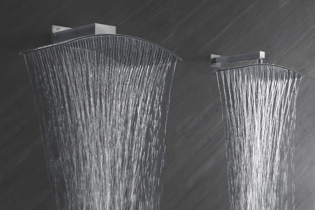 Arched Showerheads