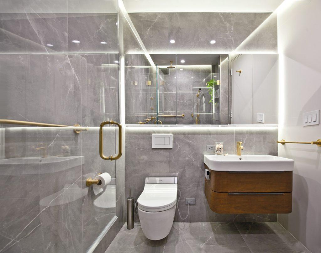 Elegant Bath Redesign Wins Top Honors Kitchen Bath Design News