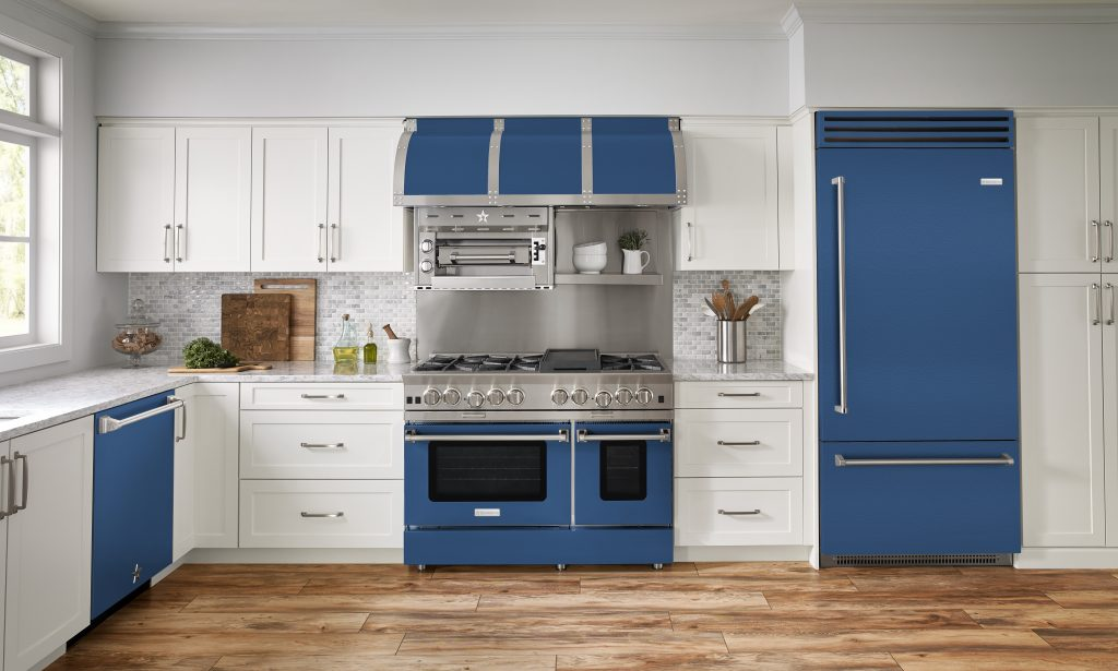 Colorful Matte Appliance Finishes