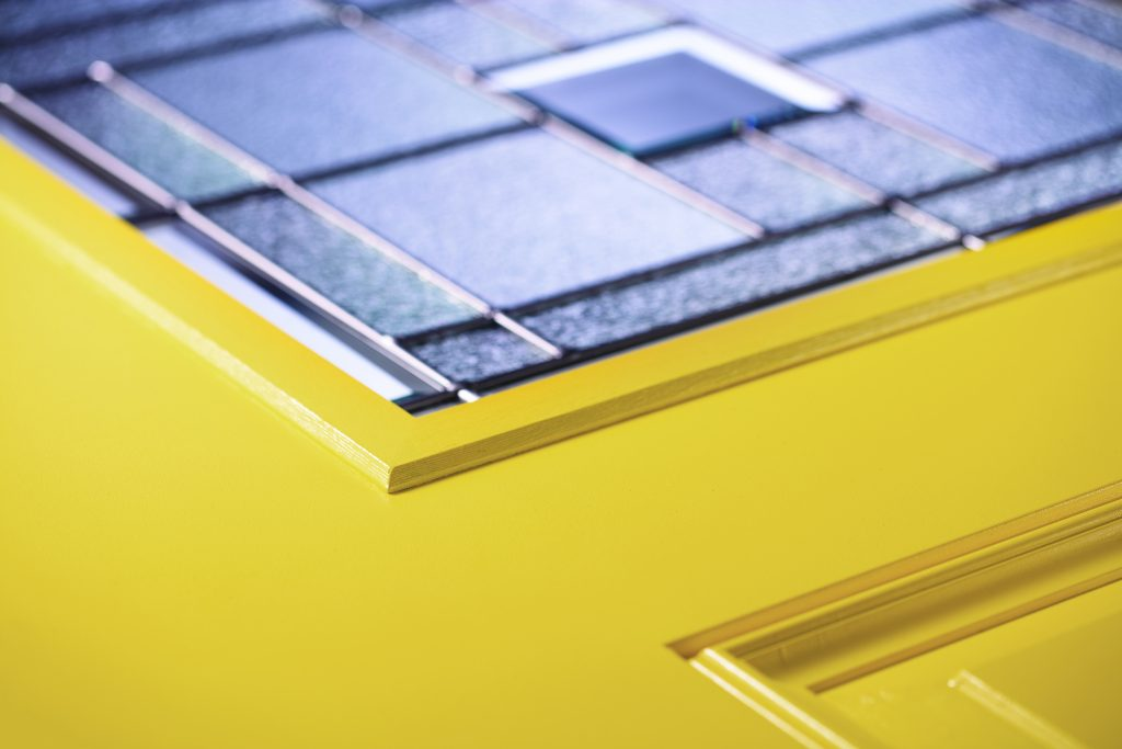 Doorglass frame incorporates flat-profile design, more sizes