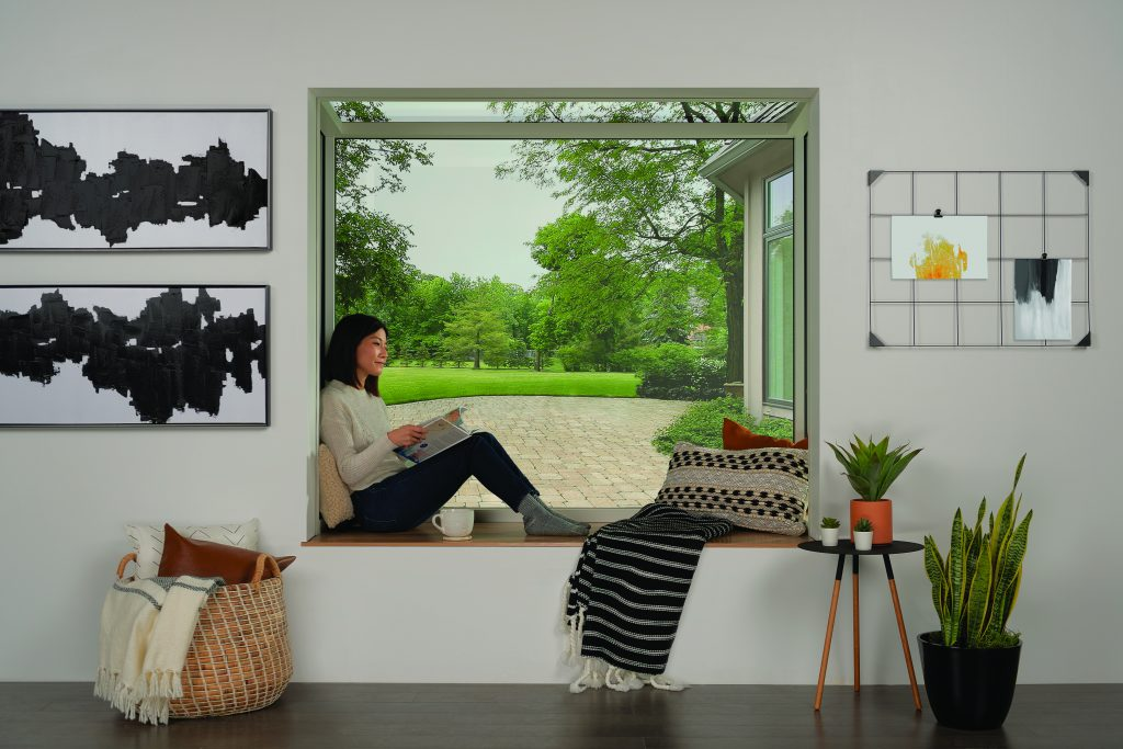 Glass alcove creates more light, seamless connection to outdoors