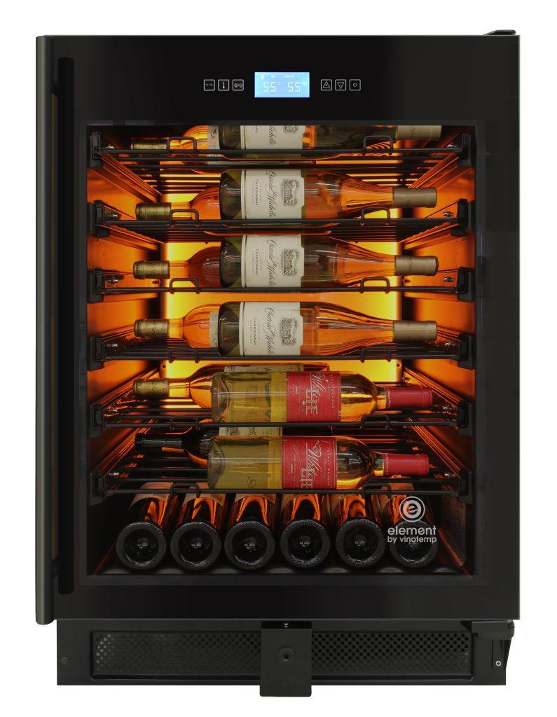 Backlit Wine Cooler