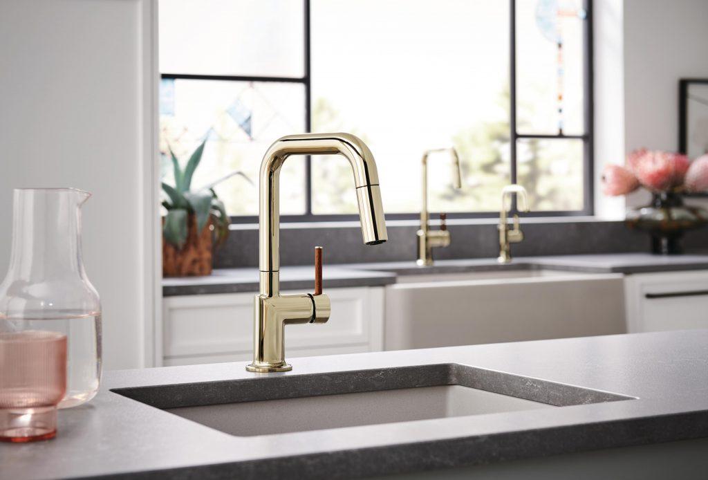 Faucet with Scandinavian Design Influence