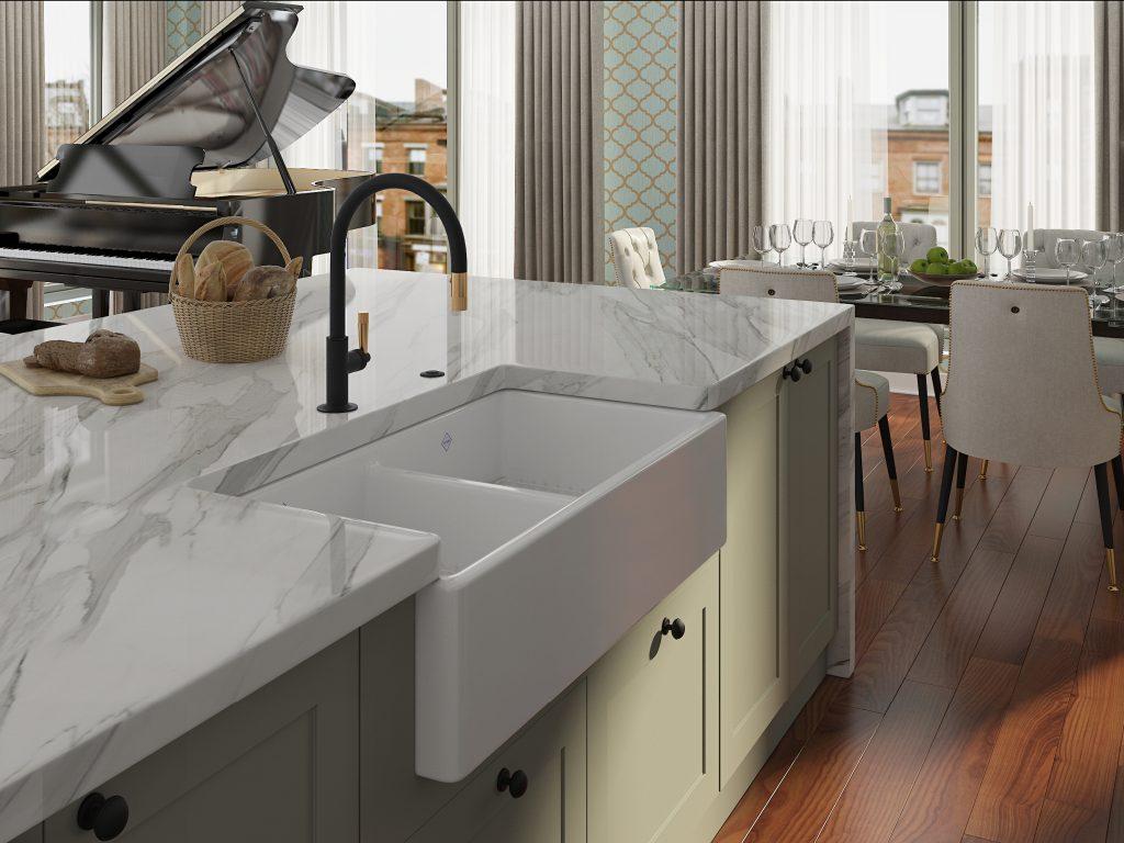 Graceline Pulldown Kitchen Faucet