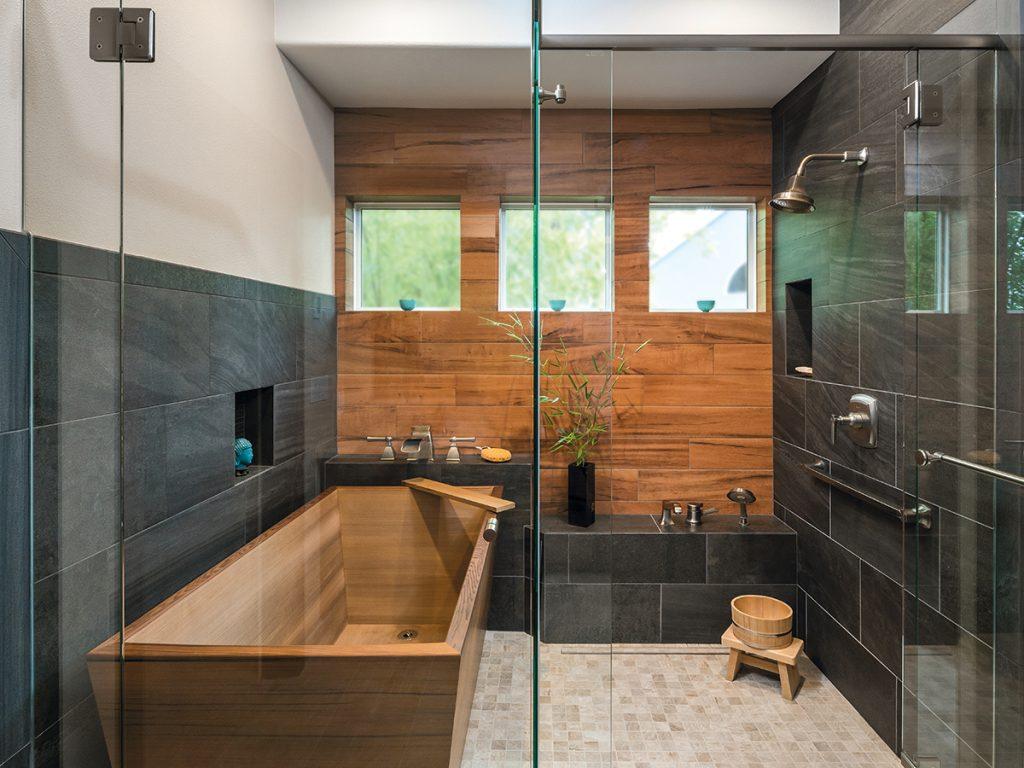 Stylish Showers & Tubs
