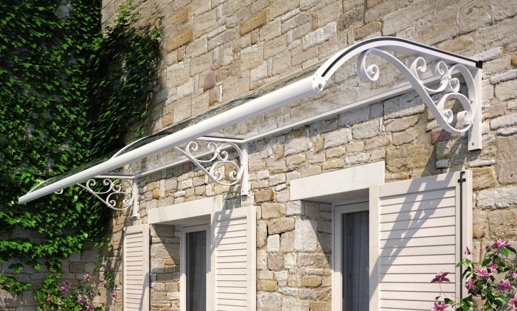 Stationary awnings offer durability, defense from the weather
