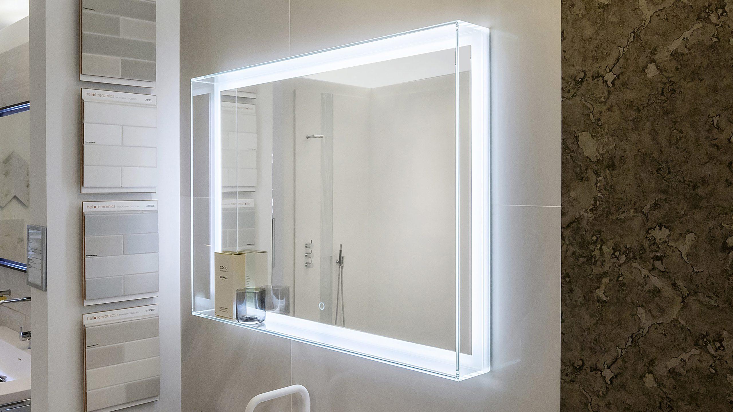Led Backlit Mirror Kitchen Bath Design News