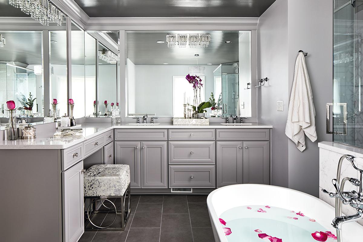Bath Remodel Defines Affordable Luxury Kitchen Bath Design News,Modern Small Narrow Bathroom Ideas