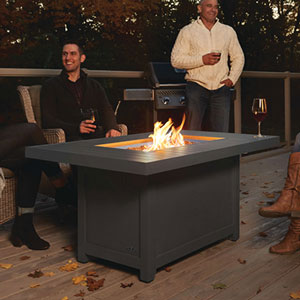 Efficient Patio Infrared Radiant Heat Fireplace