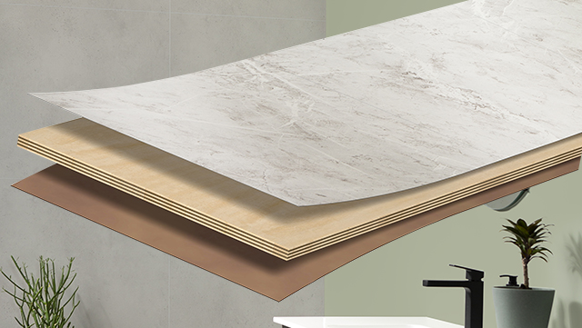 Waterproof panel system protects walls from moisture