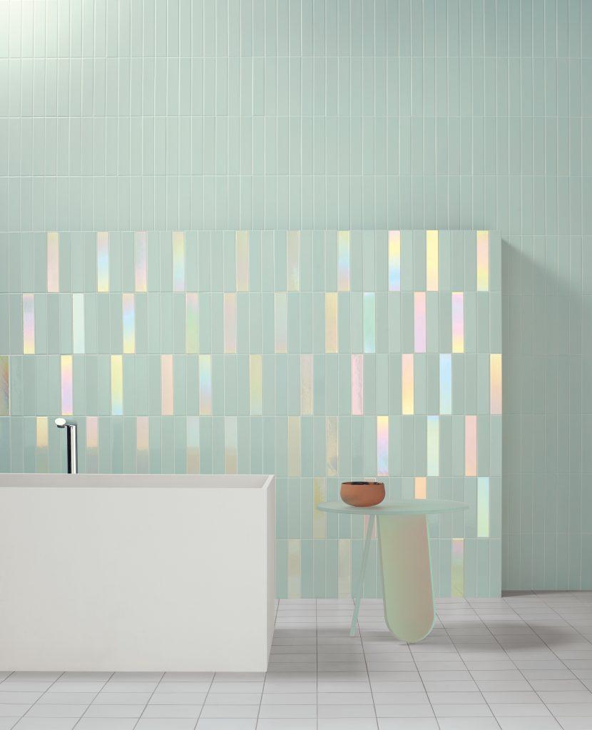 Hologram-Look Tiles