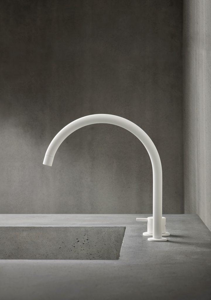 Matte White Faucet