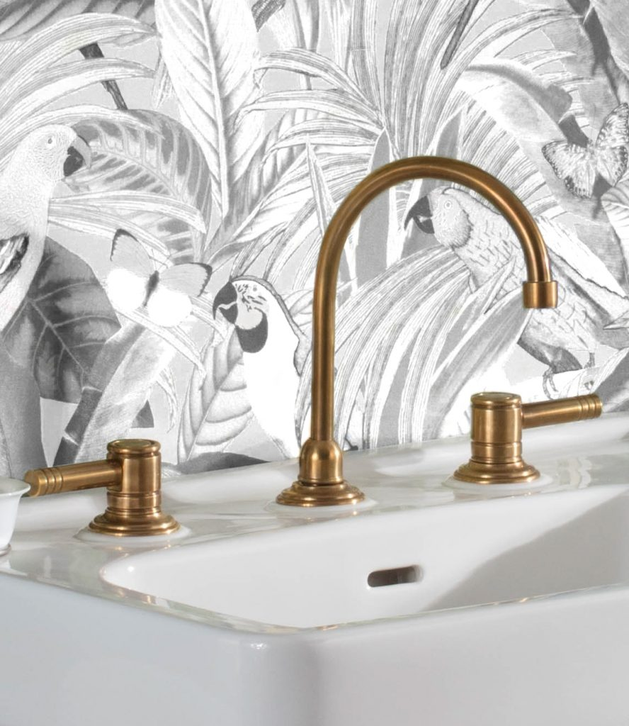 French Art Deco Inspired Faucet