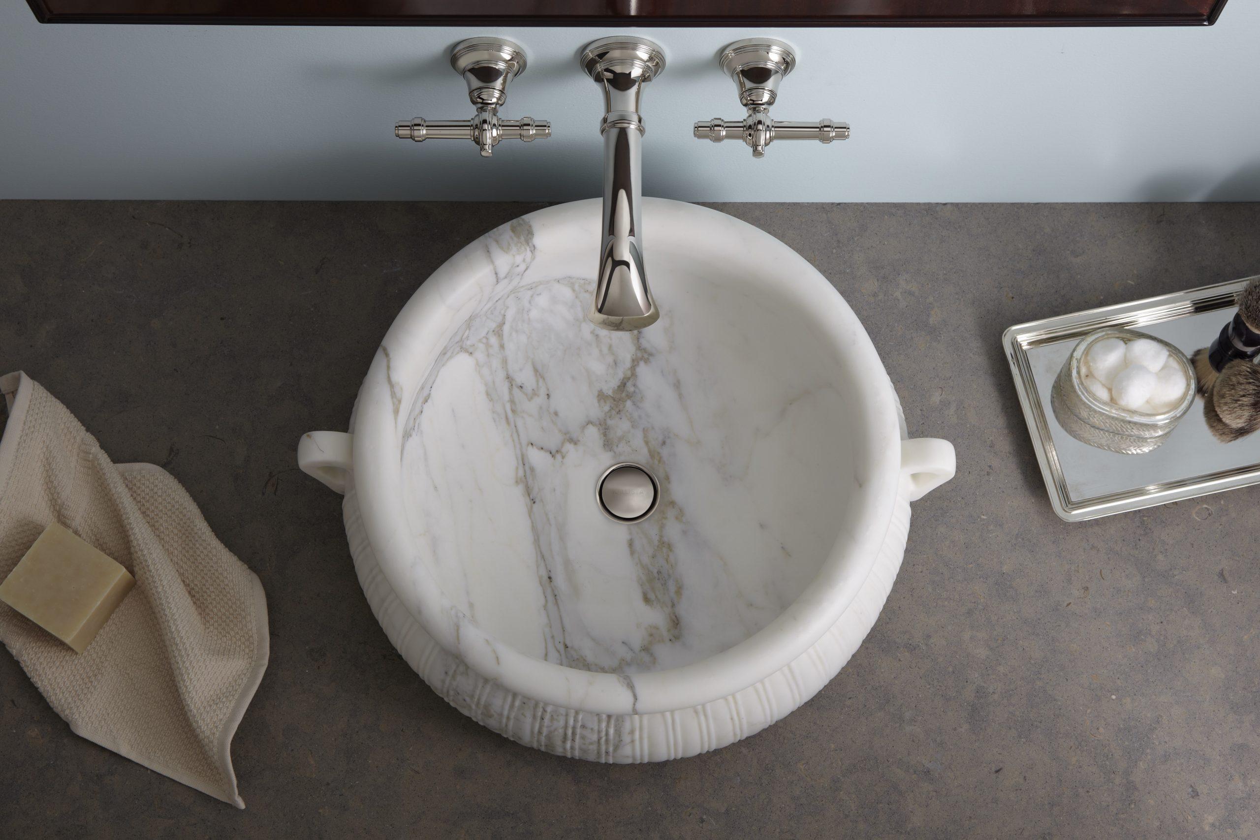 Marble Vessel Sink Kitchen Bath Design News