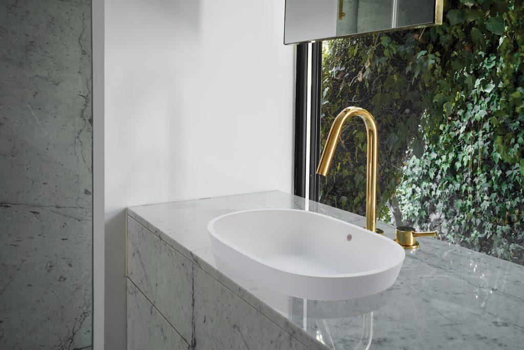 Semi-Recessed Sink