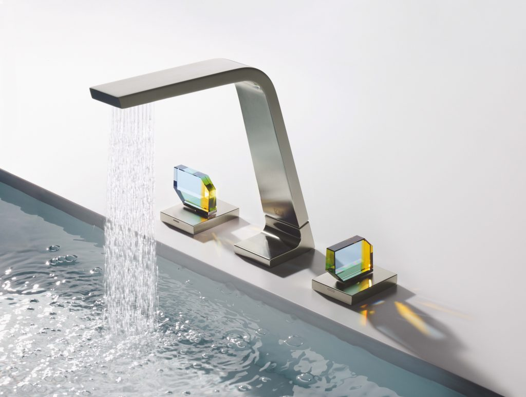Crystal Bath Faucets