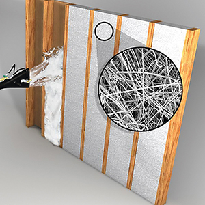 Blow-In Fiberglass Insulation