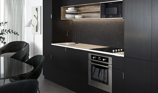 Appliances offer efficient solutions for small spaces