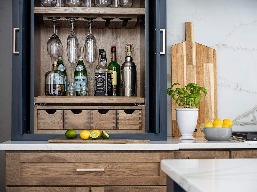 Customized Pantry Cabinets