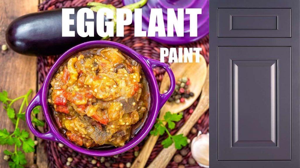 Eggplant Cabinet Color