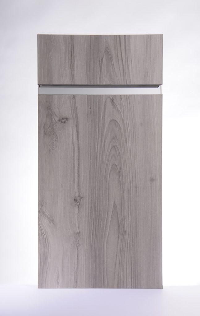 Deep Wood Textured Cabinets