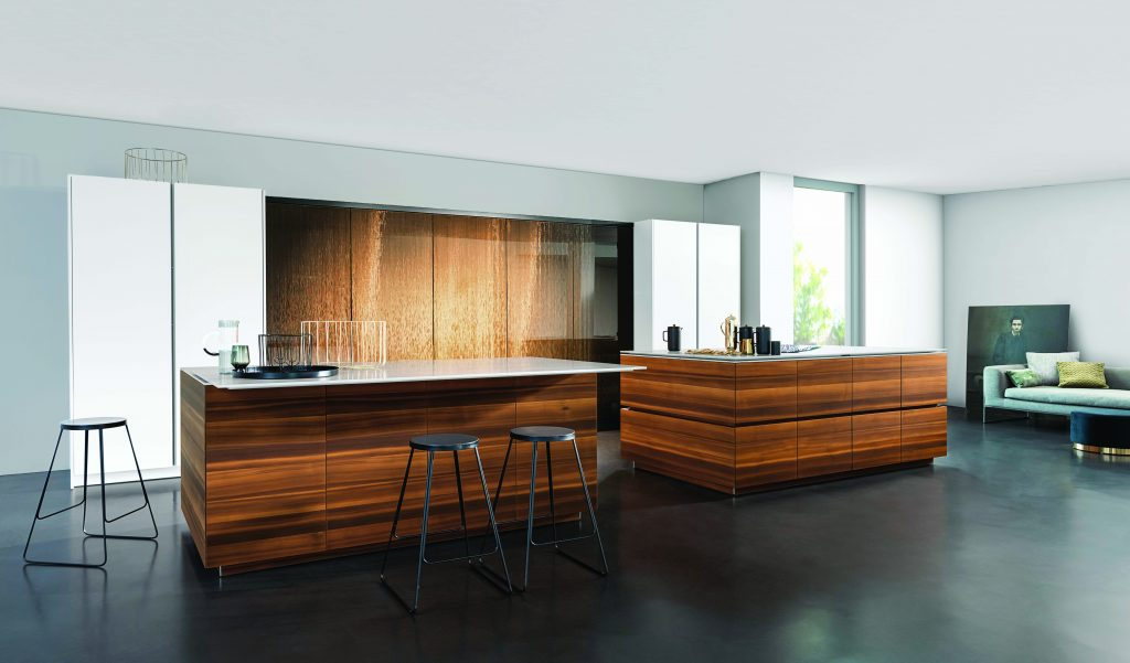 Rotating Glass Cabinets