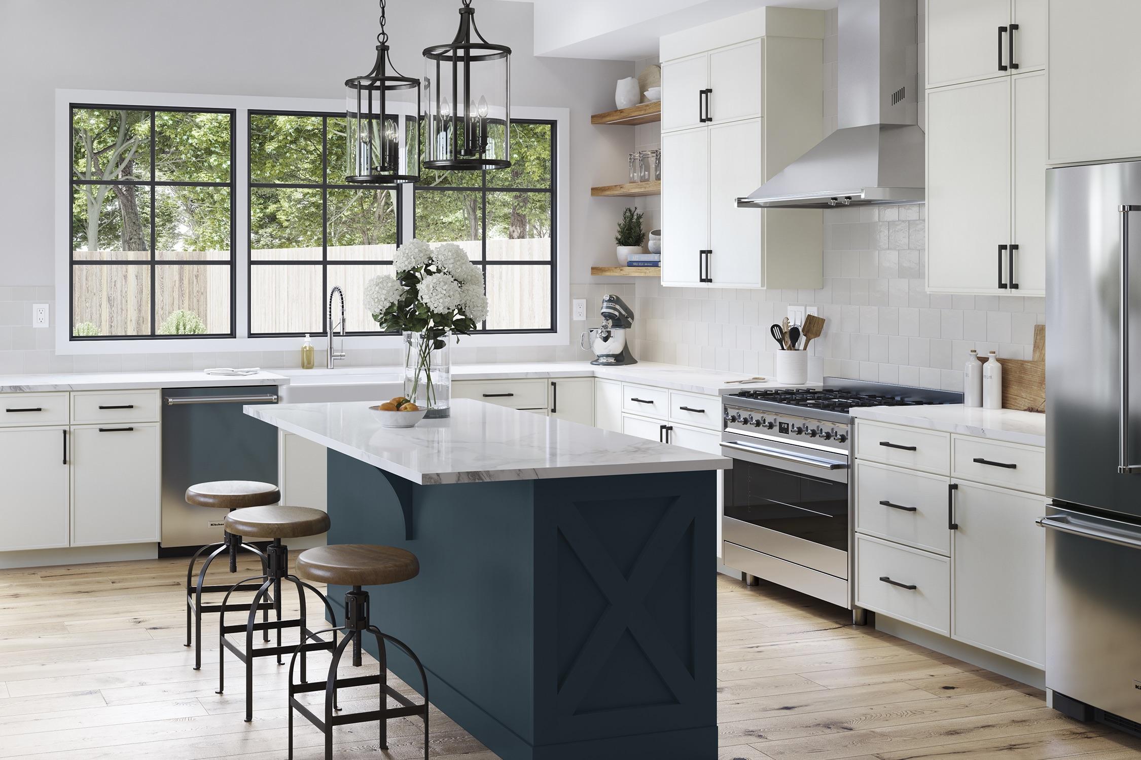 Slim Shaker Cabinet Doors Kitchen Bath Design News