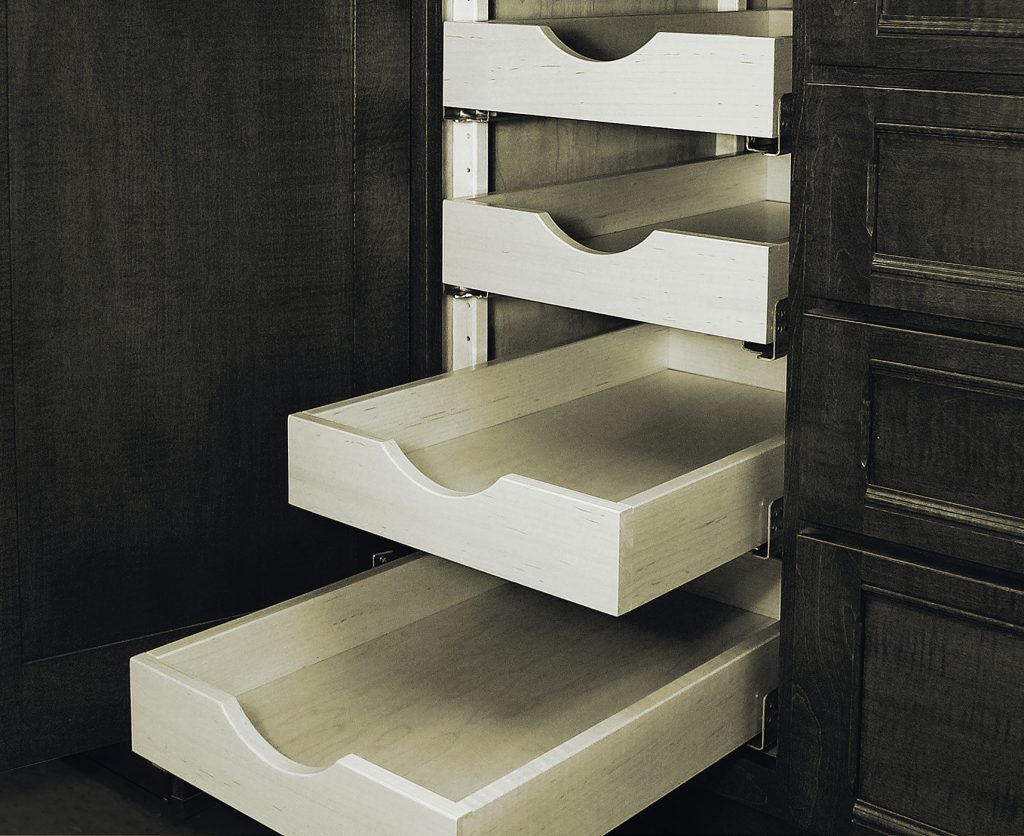 Pull-Out Cabinet Shelves