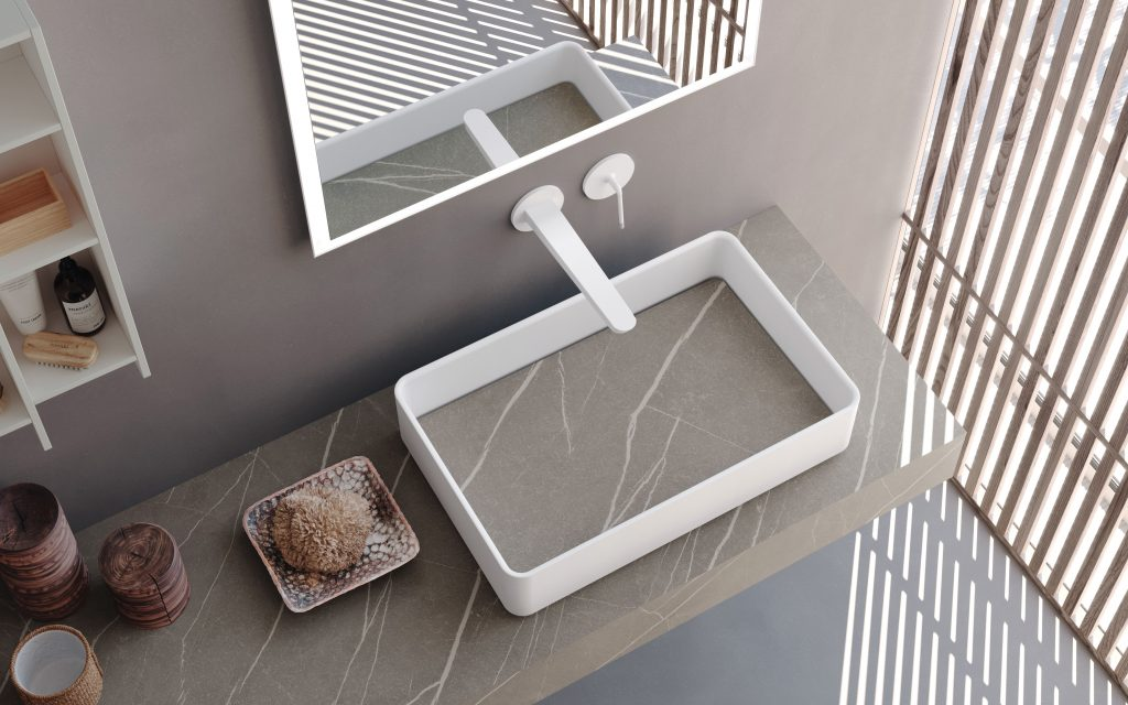 Integrated Bath Sinks