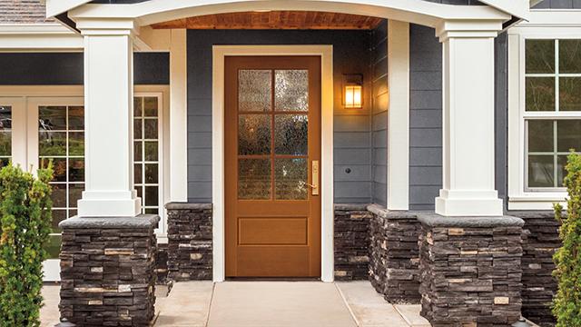 Front doors embrace current trends, popular colors