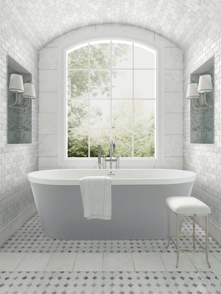 Two-Toned Tub