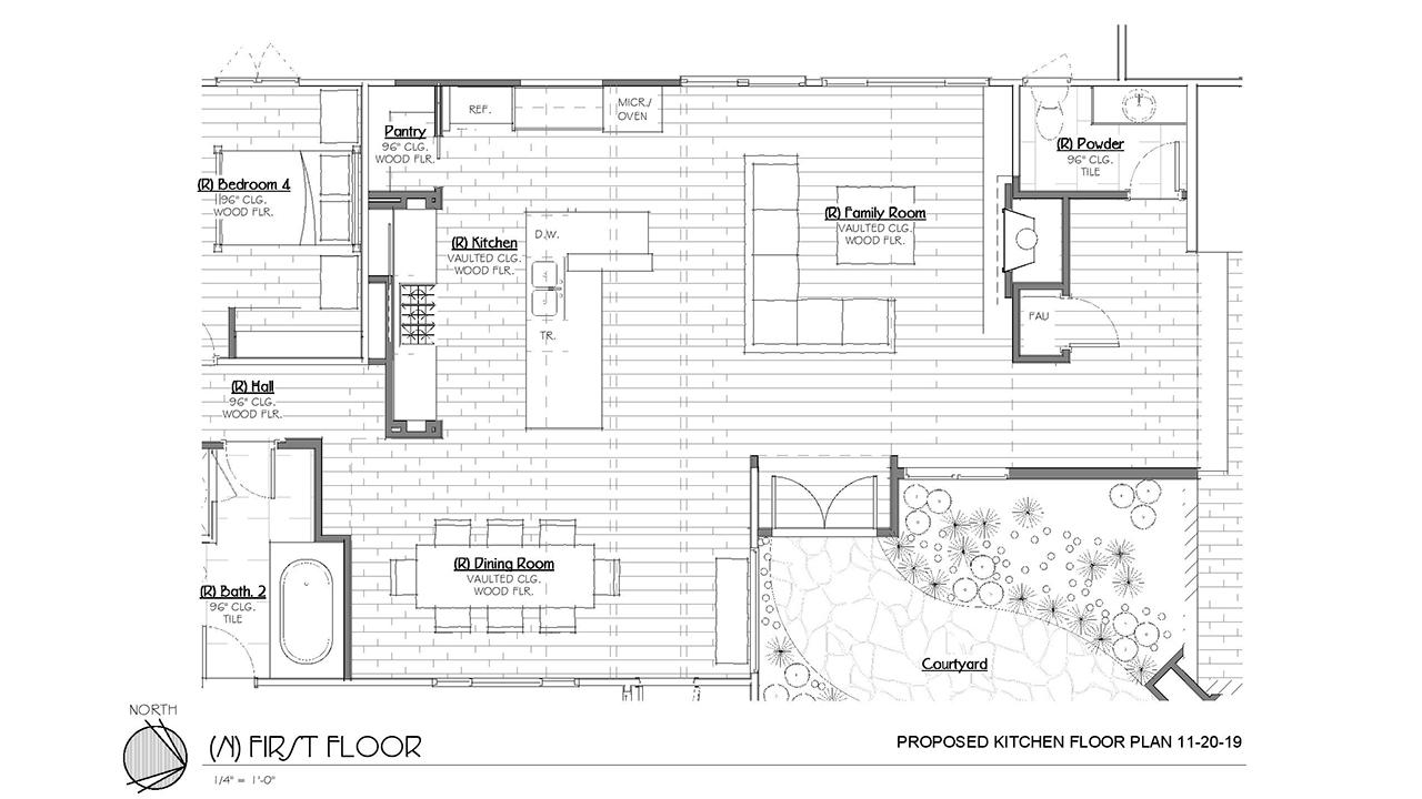 Jackson_Design-Woodland Modern Kitchen_Proposed Kitchen Floor Plan
