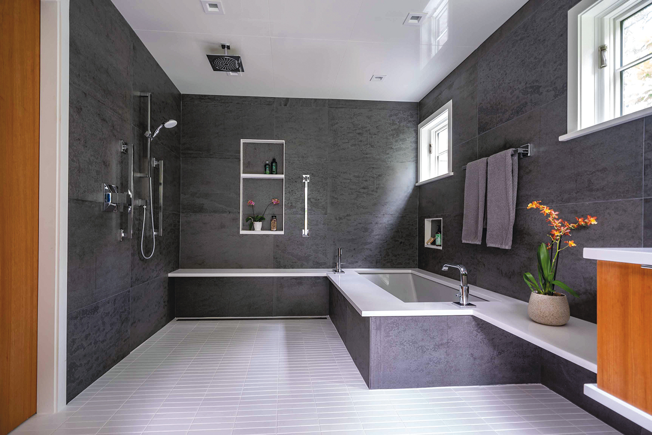 Wolf-Architects_3 Bathroom for S & G_looking west_Eric Roth Photo