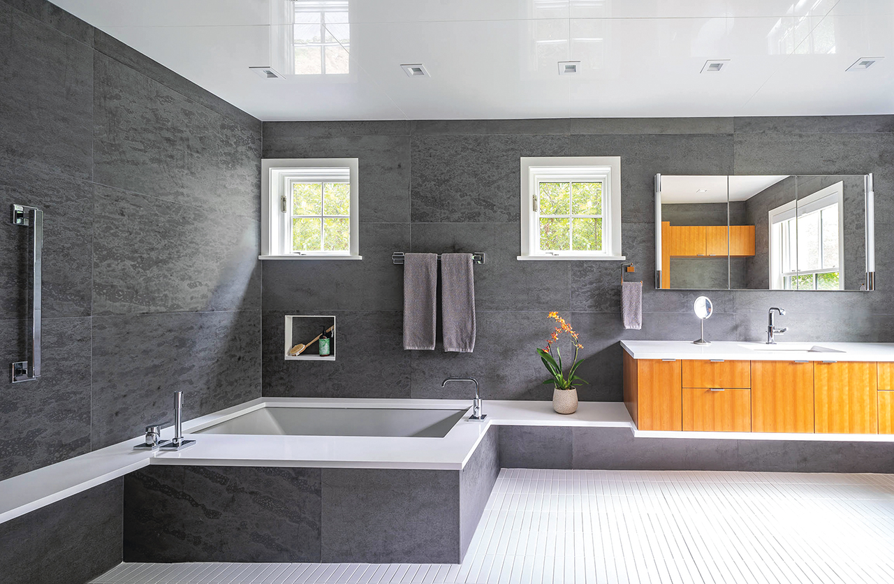 Wolf-Architects_1 Bathroom for S & G_looking north_Eric Roth Photo