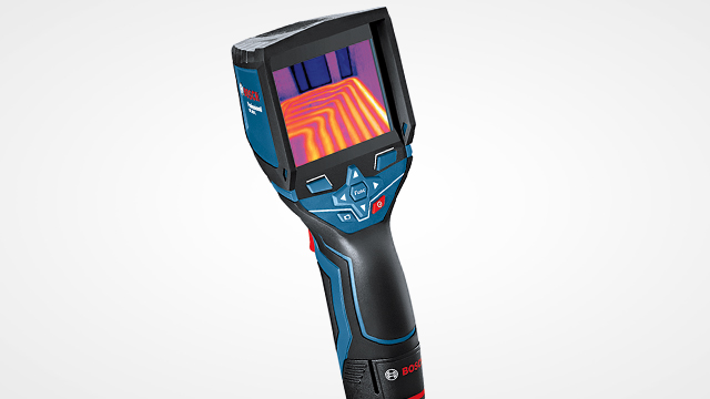 Thermal camera increases efficiency of projects
