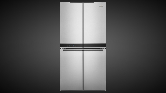 Refrigerator keeps groceries organized, accessible