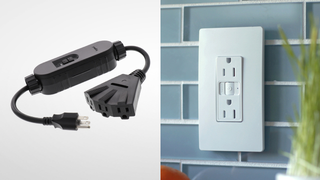 Smart switch, outlet control lighting, power