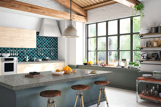 Ceramic Tile: New Life for an Old Staple